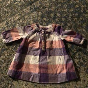 baby gap plaid dress 3-6mo
